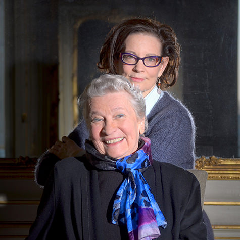 Eliane Radigue and Carol Robinson